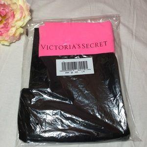 PINK VS HOT PINK Waist Black Glitter Yoga Pants L